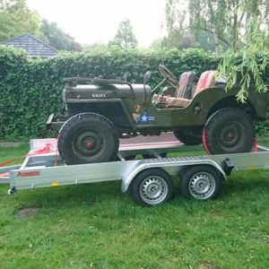 Anssems AMT ECO Car Trailer
