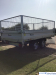 Debon PW2.3 3 way tipping trailer MGW 2600kg with Mesh Sides